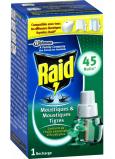 Raid elektrický odparovač s eukalyptovým olejom proti komárom náhradná náplň 45 nocí 27 ml