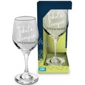 Albi Môj Bar Pohár na víno Tekutá terapie 270 ml