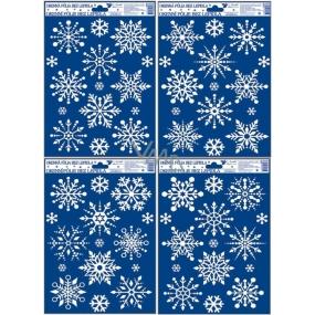 Okenné fólie bez lepidla vločky so snehovým efektom 30 x 20 cm 1 kus