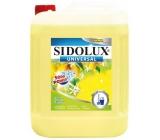 Sidolux Universal Svěží citron univerzální mycí prostředek na všechny omyvatelné povrchy a podlahy 5 l