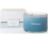 Yankee Candle Patience Seaglass - Průzračné moře vonná svíčka sklo 3 knoty 510 g