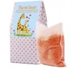 NeoCos Pomaranč Šťastné žirafy soľ do kúpeľa s bylinkami v čajových vrecúškach 50 g