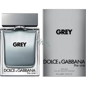 Dolce & Gabbana The One Grey toaletná voda 100 ml