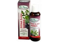 Dr. Popov Štítna žľaza normal originálne bylinné kvapky prispievajú k normálnej činnosti štítnej žľazy a produkciu ich hormónov 50 ml