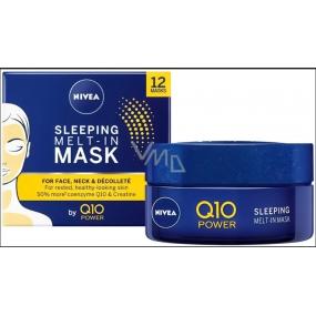 Nivea Q10 Power nočný maska pre obnovu pleti s koenzýmom Q10 50 ml