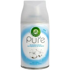 Air Wick FreshMatic Pure Jemná bavlna automatický osviežovač náhradná náplň 250 ml