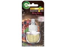 Air Wick Essential Oils Merry Berry - Vôňa zimného ovocia elektrický osviežovač náhradná náplň 19 ml