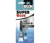 Bison Super Glue Control univerzálne sekundové tekuté lepidlo 3 g