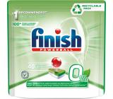 Finish Powerball Eco 0% Finish All in 1 Max tablety do umývačky riadu 40 kusov