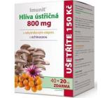 IMUNIT Hliva ustricová s rakytníkovým olejom a echinaceou chráni imunitný systém 800 mg 40 + 20 kapsúl