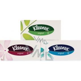 Kleenex Original trojvrstvové hygienické vreckovky v krabičke 70 kusov