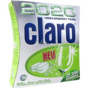 Claro 2020 High Energy Tabs - 25 multifunkčných tabliet do umývačky