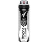 Rexona Men Invisible Black + White antiperspirant deodorant sprej pre mužov 150 ml
