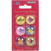 Albi Sada magnetů Příšerky 2,3 cm 6 kusů