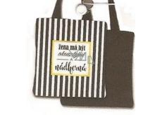 Nekupto Buď Jedinečná nákupní taška Pruhy