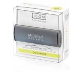 Millefiori Icon Cold Water - Chladná voda Vůně do auta Classic tmavě šedá voní až 2 měsíce 47 g