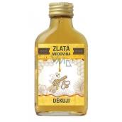 Bohemia Gifts & Cosmetics Zlatá medovina 18% Ďakujem 100 ml