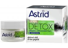 Astrid Citylife Detox obnovující rozjasňující noční krém 50 ml