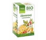Apotheke Bio Zázvorový čaj s pomarančom napomáha k tráveniu, dýchanie a duševnej pohode 20 x 1,5 g