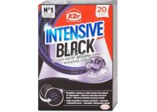 K2r Intensive Black obrúsky obnovujú intenzitu tmavých farieb a ochraňujú jas čiernej a tmavej farby 20 obrúskov