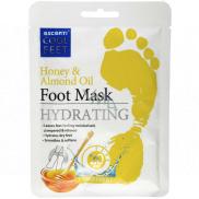 Escenti Cool Feet Med & Mandľový olej hydratujúce maska na nohy 1 pár