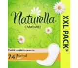 Naturella Normal intímne vložky s harmančekom 74 kusov