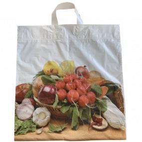Taška igelitová 46 x 43 cm s uchom Zelenina