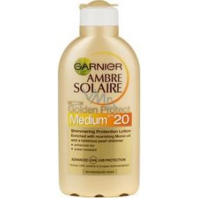 Garnier Ambre Solaire Golden Protect SPF20 mlieko na opaľovanie 200 ml