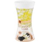 Pan Aroma Lava Gel Crystals French Vanilla gelový osvěžovač vzduchu 150 g