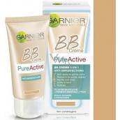 Garnier Skin Naturals Pure Active 5v1 BB cream proti nedokonalostem normální pleť 50 ml
