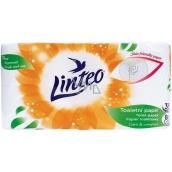 Linteo Care & Comfort toaletný papier 3 vrstvový 15 m 8 kusov