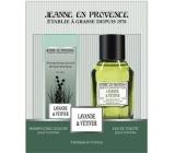 Jeanne en Provence Men Lavande & Vétiver toaletní voda 100 ml + 2v1 šampon a sprchový gel 250 ml, dárková sada