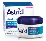 Astrid Hyaluron Plus Ultra Repair Zpevňující noční krém proti vráskám 50 ml