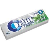 Wrigleys Orbit White Spearmint žuvačky bez cukru dražé 10 kusov 14 g