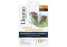 Lirene Dokonale hladké nohy 3% urea 2 fázová peeling a regeneračné maska v ponožkách