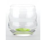 Masaru Emoto Mythos poháre Baví ma sa učiť (Motýľ / Listy) - zelená 0,25 l