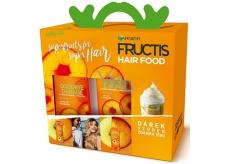 Garnier Fructis Goodbye Damage posilující šampon 250 ml + posilující balzám na vlasy 200 ml + dárek: Hair Food vzorek 15 ml, kosmetická sada