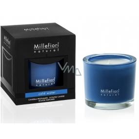 Millefiori Milano Natural Cold Water - Chladná voda Vonná sviečka horí až 60 hodín 180 g
