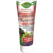 Bion Cosmetics Cannabis + Kostihoj Forte bylinný balzam s gaštanom konským 200 ml