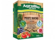 AgroBio Inporo Proti suchu obsahuje baktérie a riasy pre zeleninu, bylinky, ovocné a okrasné rastliny, dreviny a trávniky 3 x 8 g