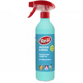 Real Univerzálny dezinfekčný prostriedok bez alkoholu, bez chlóru rozprašovač 550 g