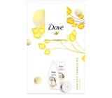 Dove Nourishing Secrets Ošetrujúci Rituál Kokos sprchový gél 250 ml + telové mlieko 250 ml + zrkadlo, kozmetická sada