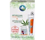 Annabis Arthrocann Collagen Omega 3-6 Forte doplnok stravy 60 tabliet + Annabis Arthrocann konopný gél s koloidným striebrom na kĺby, šľachy svaly a chrbát 75 ml, darčeková sada