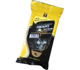 Coyote Cockpit vanilka čisticí ubrousky 30 ks