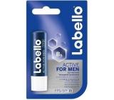 Labello for Men Active Care balzam na pery pre mužov 4,8 g
