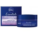 Nivea Essentials upokojujúci nočný krém pre citlivú pleť 50 ml
