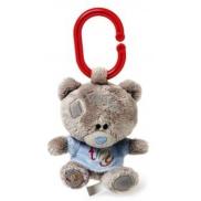Me to You Tiny Tatty Teddy Medvedík pískatko v modrom tričku 10 cm