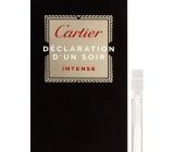Cartier Declaration d Un Soir Intense toaletní voda pro muže 1,5 ml s rozprašovačem, Vialka