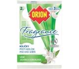 Orion Fragrance Jasmín a konvalinka závěsné kolíčky proti molům 2 kusy