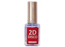Amoené 2D Disco zpevňující lak reagující na UV světlo 12 ml